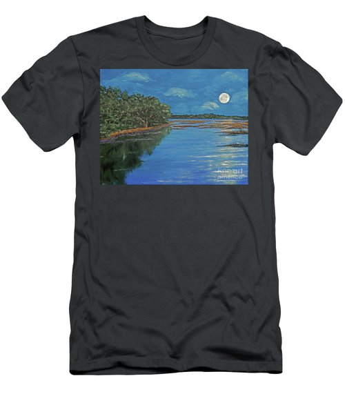 Lowcountry Moon Men's T-Shirt (Athletic Fit)
