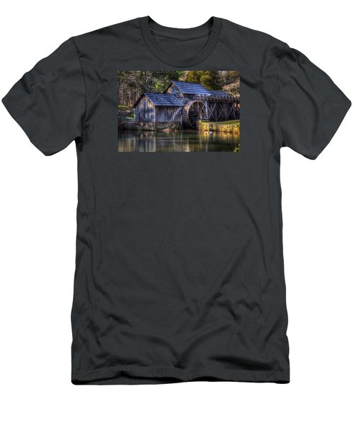 Mabry Mill Men's T-Shirt (Slim Fit) by Steve Hurt