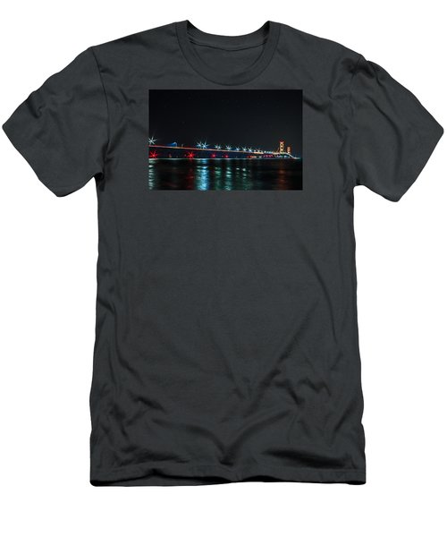 Mackinac Bridge  Men's T-Shirt (Athletic Fit)