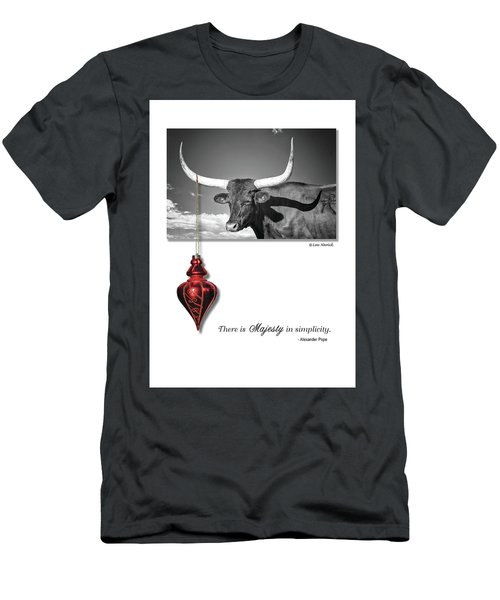 Men's T-Shirt (Athletic Fit) featuring the photograph Majesty In Simplicity by Lou Novick
