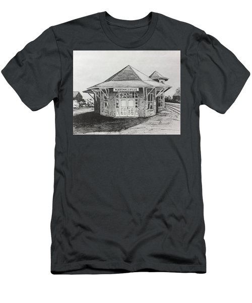 Marshallville Depot Men's T-Shirt (Athletic Fit)