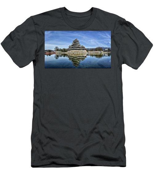 Matsumoto Castle Panorama Men's T-Shirt (Athletic Fit)