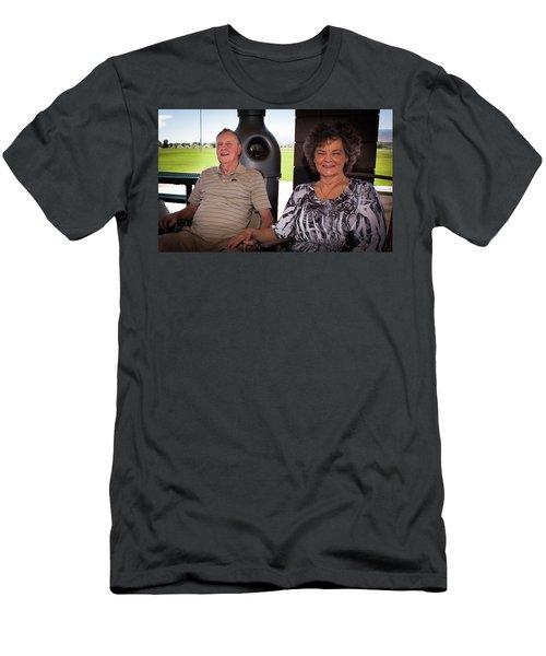 Mcquillen Family Reunion 2017 Men's T-Shirt (Slim Fit)