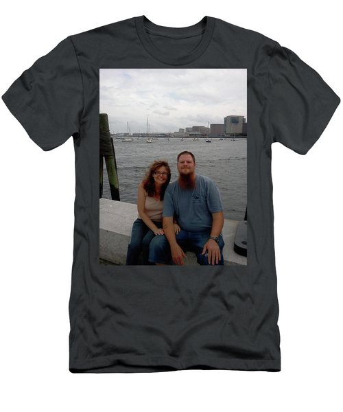 Men's T-Shirt (Slim Fit) featuring the photograph me by Richie Montgomery