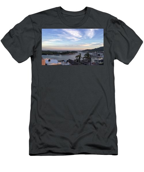 Men's T-Shirt (Slim Fit) featuring the photograph Mexico Memories by Victor K
