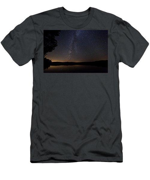 Milky Way Chocorua Lake Men's T-Shirt (Athletic Fit)