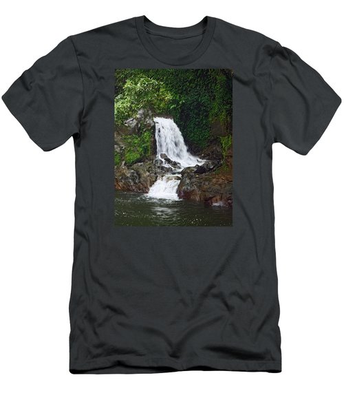Mini Waterfall Men's T-Shirt (Athletic Fit)