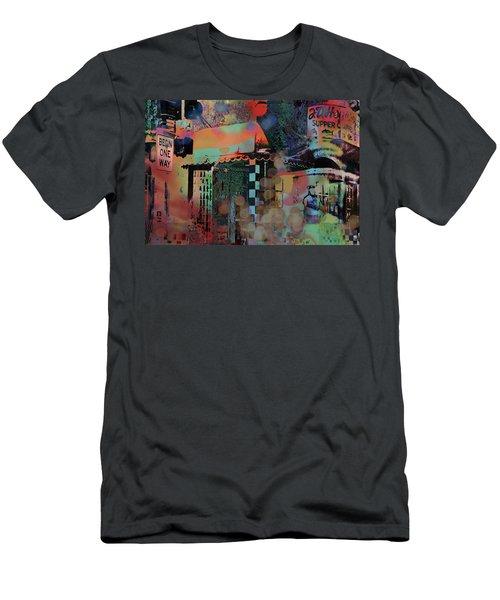 Minneapolis Collage Men's T-Shirt (Athletic Fit)