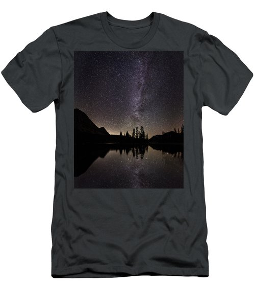 Mirror Lake Milky Way Men's T-Shirt (Athletic Fit)