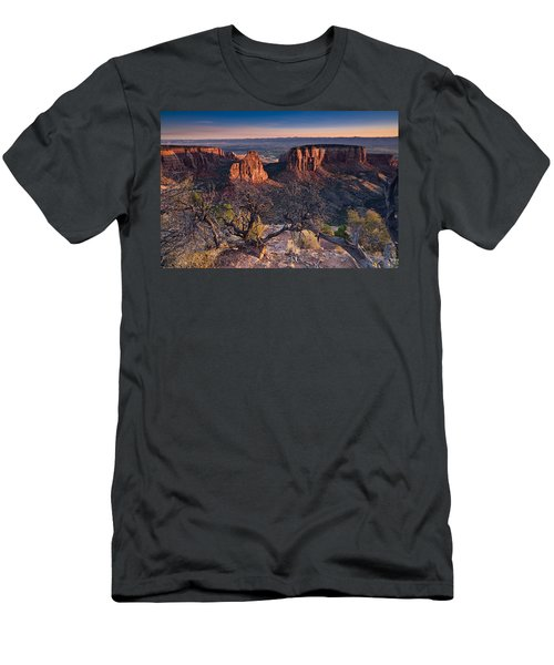 Morning At Colorado National Monument Men's T-Shirt (Athletic Fit)