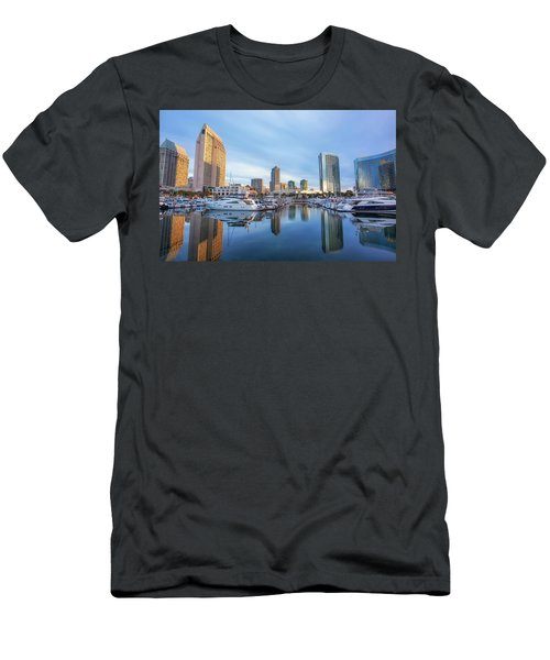 Morning Reflections Men's T-Shirt (Slim Fit) by Joseph S Giacalone
