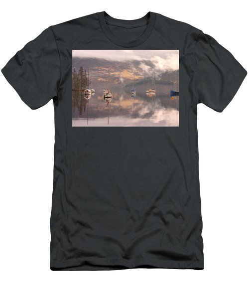 Morning Reflections Of Loch Ness Men's T-Shirt (Athletic Fit)
