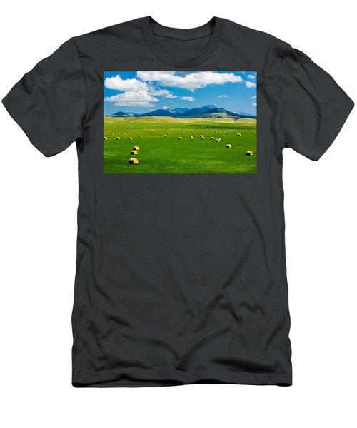 Mountain Fields Men's T-Shirt (Athletic Fit)