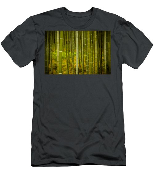 Mystical Bamboo Men's T-Shirt (Athletic Fit)