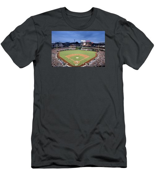Nats Park - Washington Dc Men's T-Shirt (Slim Fit) by Brendan Reals