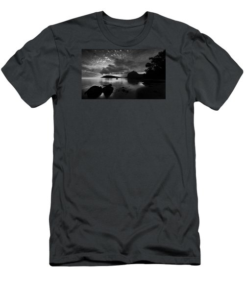 Men's T-Shirt (Athletic Fit) featuring the photograph Near Le Morne by Julian Cook