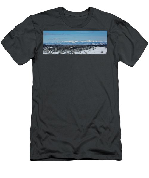 Never Summer  Men's T-Shirt (Athletic Fit)