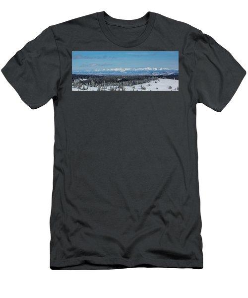 Never Summer  Men's T-Shirt (Athletic Fit)