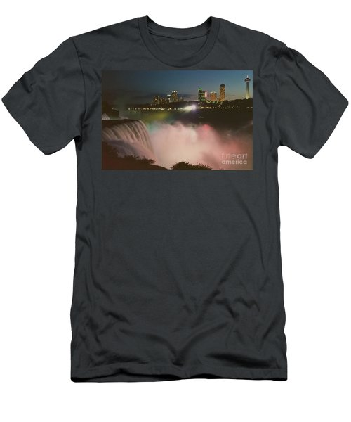 Men's T-Shirt (Slim Fit) featuring the photograph Niagara  by Raymond Earley