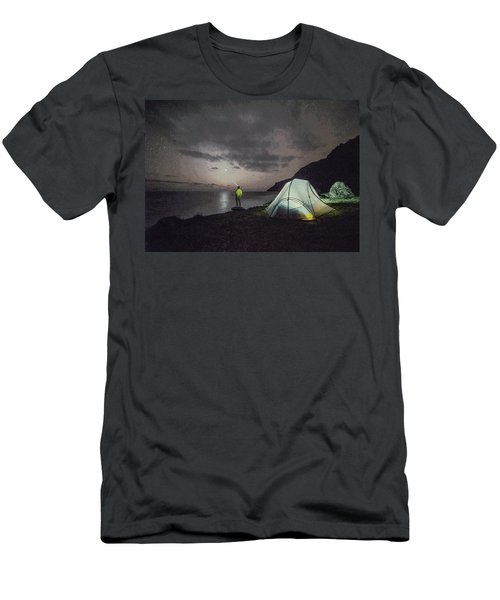 Night Gazer Men's T-Shirt (Athletic Fit)