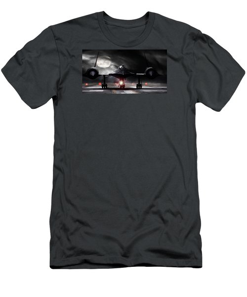 Night Moves Men's T-Shirt (Slim Fit) by Peter Chilelli