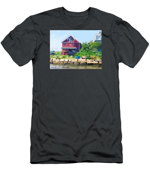 North Shore Art Association At Reed's Wharf Men's T-Shirt (Athletic Fit)