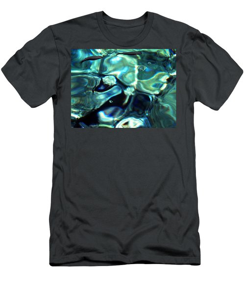 Men's T-Shirt (Slim Fit) featuring the photograph Ocean Water by Colette V Hera  Guggenheim