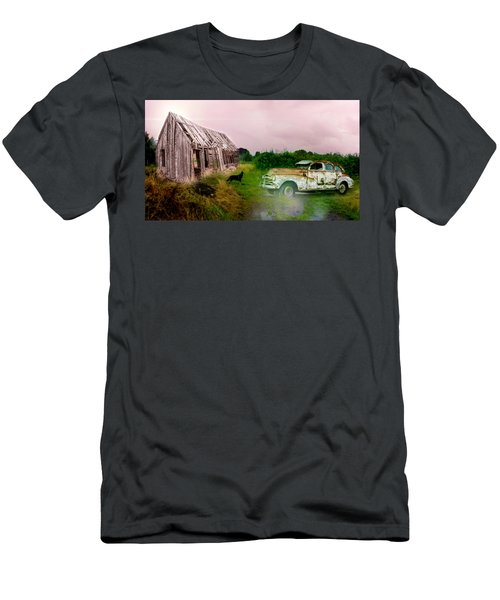 Men's T-Shirt (Athletic Fit) featuring the photograph Ol' Rusty by Alison Frank