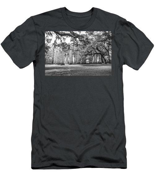 Old Sheldon Church - Tree Canopy Men's T-Shirt (Athletic Fit)