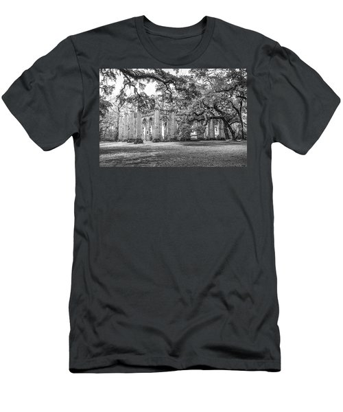 Old Sheldon Church - Tree Canopy Men's T-Shirt (Athletic Fit)
