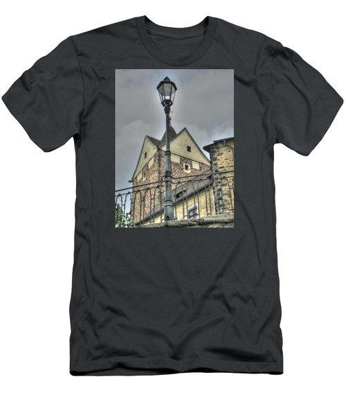 old Tallin Men's T-Shirt (Slim Fit) by Yury Bashkin