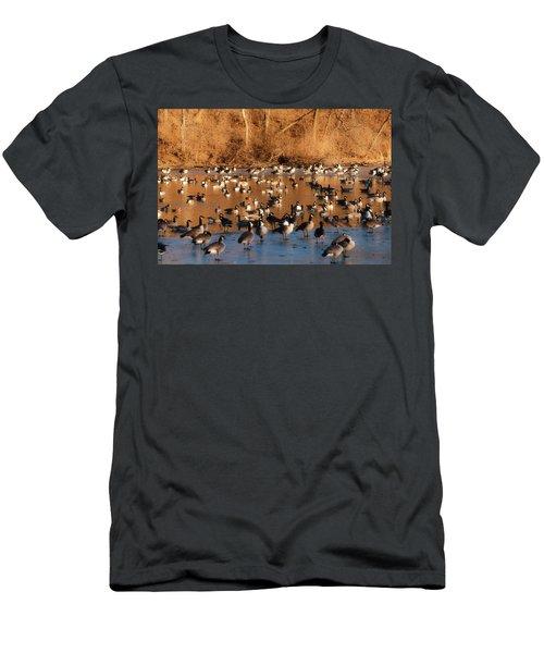 Open Water Men's T-Shirt (Slim Fit) by Edward Peterson