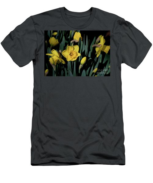 Camelot Daffodils Men's T-Shirt (Athletic Fit)