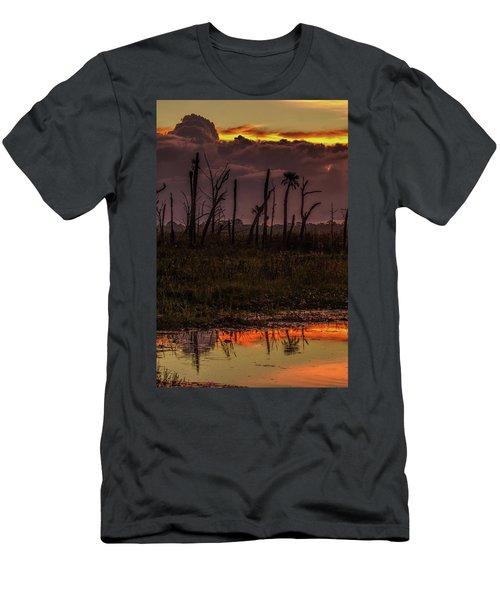 Orlando Wetlands Sunrise Men's T-Shirt (Athletic Fit)