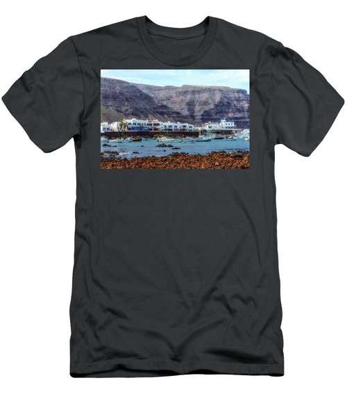 Orzola - Lanzarote Men's T-Shirt (Athletic Fit)