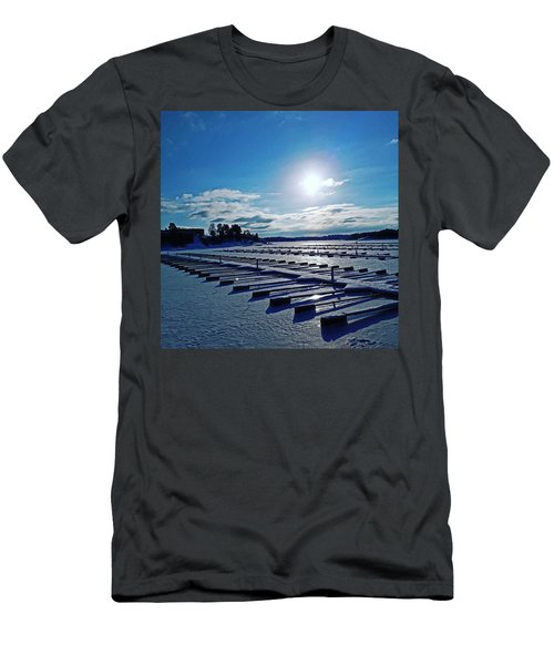 Oslo Fjords In Norway.  Men's T-Shirt (Athletic Fit)