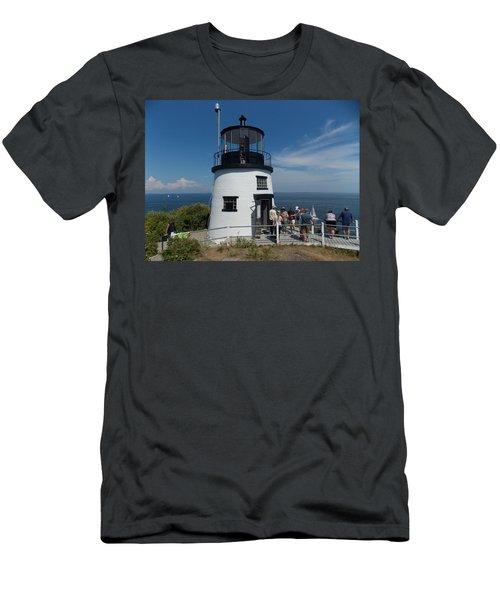 Owls Head Light Men's T-Shirt (Athletic Fit)