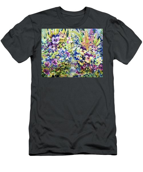 Pansy Path Men's T-Shirt (Athletic Fit)