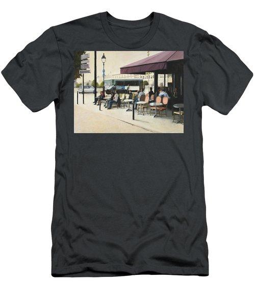 Paris Cafe Men's T-Shirt (Athletic Fit)