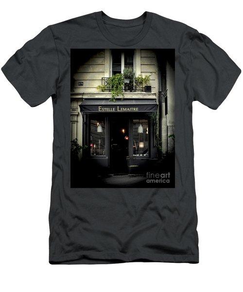 Parisian Shop Men's T-Shirt (Slim Fit) by Karen Lewis