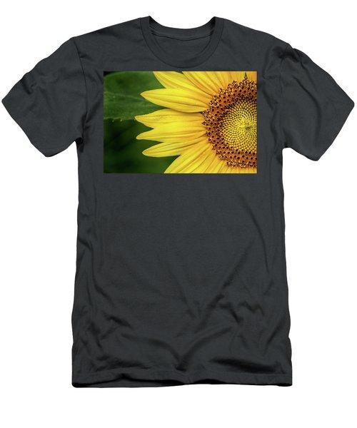 Partial Sunflower Men's T-Shirt (Athletic Fit)