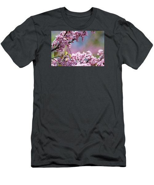 Pastel Blossoms Men's T-Shirt (Athletic Fit)