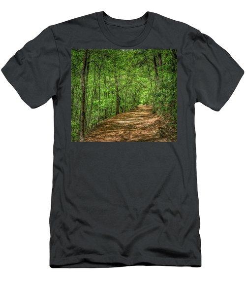 Path Less Travelled - Impressionist Men's T-Shirt (Athletic Fit)