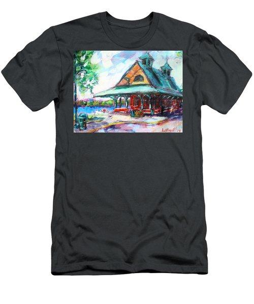 Pewaukee Depot Men's T-Shirt (Athletic Fit)
