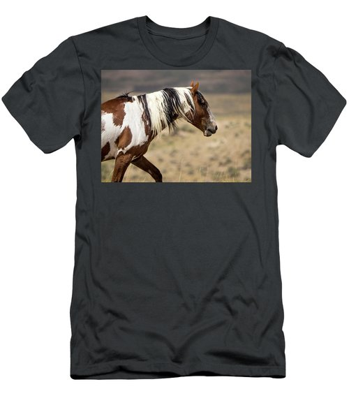 Picasso Of Sand Wash Basin Men's T-Shirt (Slim Fit) by Nadja Rider