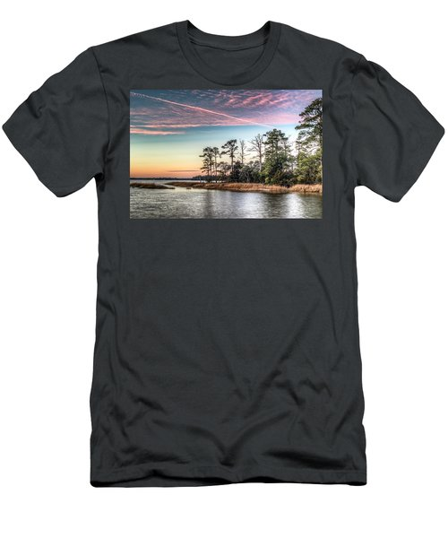 Pink Sky At Night Men's T-Shirt (Athletic Fit)