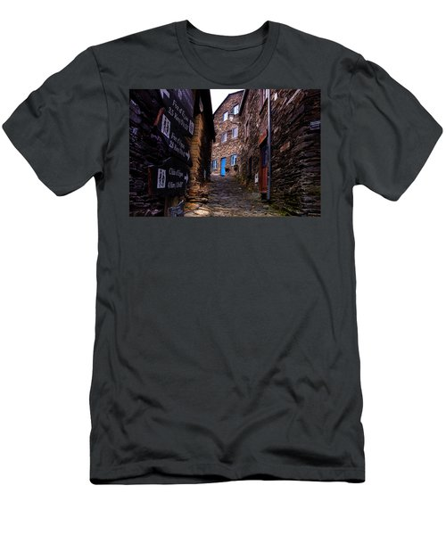 Men's T-Shirt (Slim Fit) featuring the photograph Piodao - Portugal by Edgar Laureano