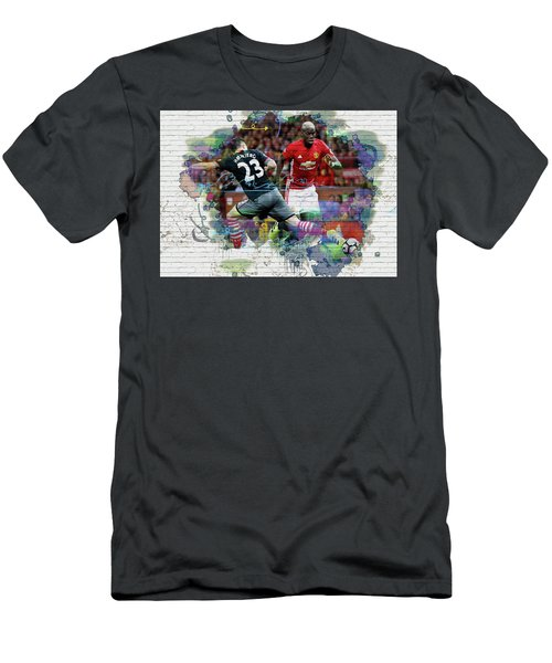 Pogba Street Art Men's T-Shirt (Athletic Fit)