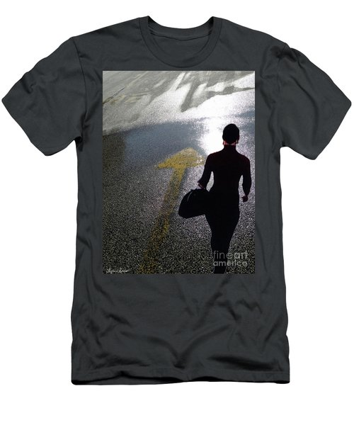 Point The Way Men's T-Shirt (Slim Fit) by Lyric Lucas