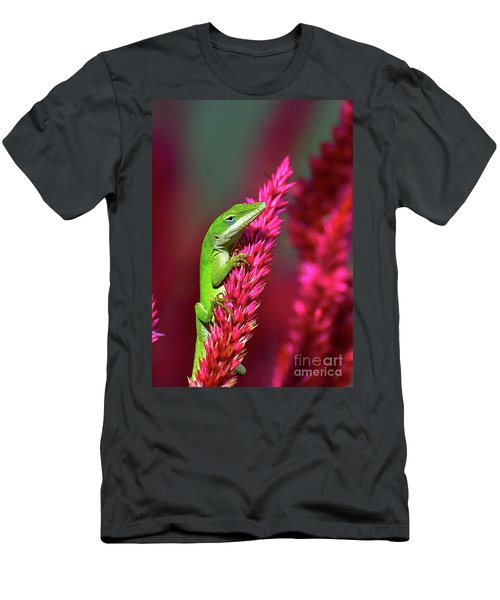 Pretty In Pink Men's T-Shirt (Slim Fit)